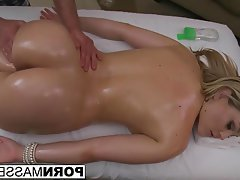 Babe, Big Boobs, Blowjob, Facial, Massage