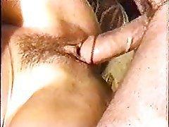 Close Up, Hairy, Hardcore, MILF, Threesome