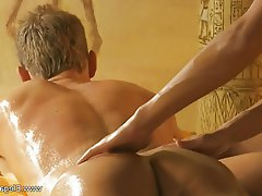 Blonde, Massage, MILF