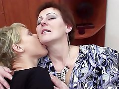 Lesbian, Mature, MILF, Old and Young, Granny