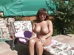 Blowjob, Brunette, Mature, Big Tits