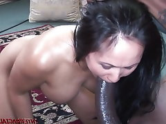 Asian, Interracial, MILF, Wife, Big Black Cock