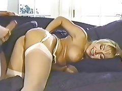 Blonde, Blowjob, Lingerie, Pornstar, Stockings