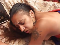 Blowjob, Interracial, Brunette, Hairy