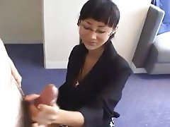 Asian, Cumshot, Handjob, Old and Young, Softcore