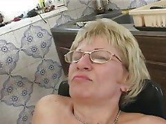 Blonde, Cumshot, Granny, Hairy, Old and Young