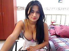 Indian, Masturbation, Webcam