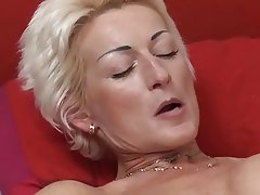Blonde, Cumshot, Mature, MILF, Old and Young