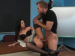 MILF, Teacher, Office, Hardcore